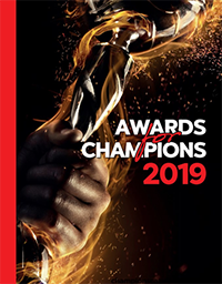 Awards for champions 2019
